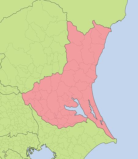 茨城県全域地図